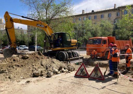20-05-18 КВ Водоканал обновляет сети для благоустройства объекта культурного наследия